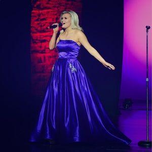 Sherri Hill  #50812 Purple Size 6 See Description!